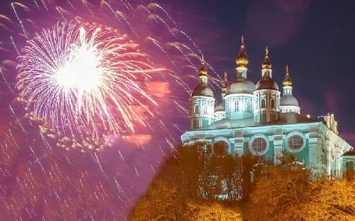 Салют в День защитника Отечества запустят в Смоленске