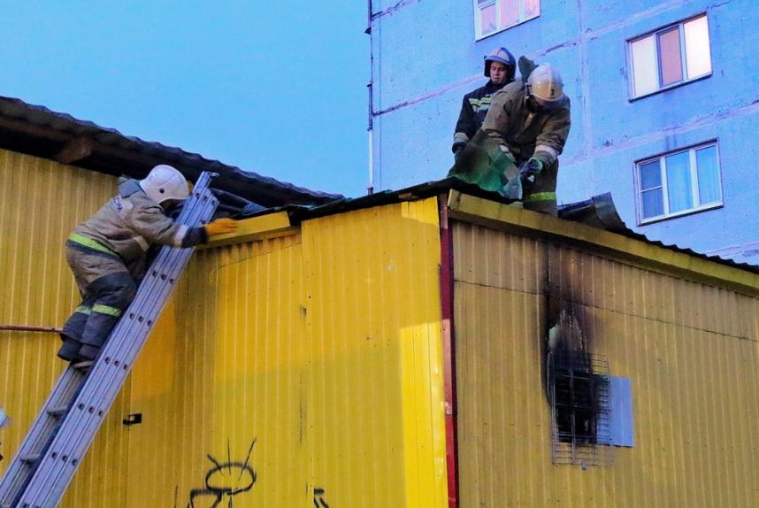 Озвучена возможная причина пожара в супермаркете Смоленска